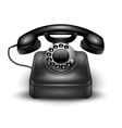 Realistic Retro Telephone vector image