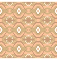 Seamless pattern with Arabic motif in soft beige vector image