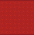traditional red japanese seamless pattern vector image vector image