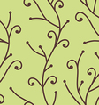 tree branch pattern vector image vector image