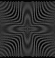 black and white halftone circular dot pattern vector image vector image