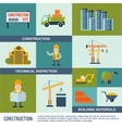 Construction Icons Set vector image vector image