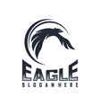 Eagle logo design flying eagle logo template