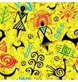 Seamless ethnic vector image