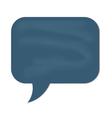 speech cloud grey chalkboard vector image vector image