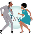 The Twist vector image vector image