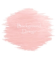 Watercolor peach color strokes vector image vector image