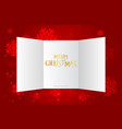 christmas calendar doors advent window xmas vector image vector image