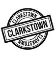 Clarkstown rubber stamp vector image vector image
