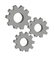 gears engineering design vector image vector image