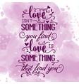 romantic love quote vector image vector image