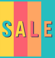 sale banner template design banners vector image vector image