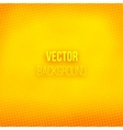 Yellow Blurred Background With Halftone Effect vector image