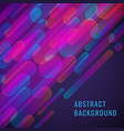 abstract design with dinamic shapes vector image vector image