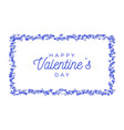 abstract love for your valentines day greeting vector image