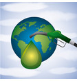 biofuel ecology alternative vector image vector image