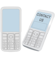 Cell Phone Contact vector image vector image