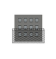 prison jail building vector image