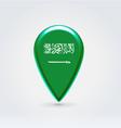 Saudi arabian icon point for map