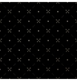 Seamless gold pattern with crossed arrows vector image vector image