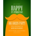 St Patricks Day poster vector image vector image