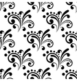 Swirl seamless pattern background vector image vector image