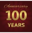 100 years anniversary