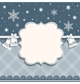 card for Christmas and New Year vector image vector image