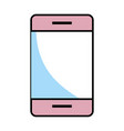 cellphone isolated icon vector image vector image