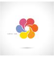 Creative abstract logo design vector image vector image