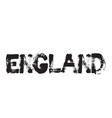 england stamp typ vector image