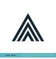 letter a icon logo template design eps 10 vector image vector image