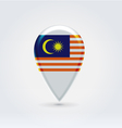 Malaysian icon point for map