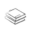 stack books literature study learn read image vector image vector image