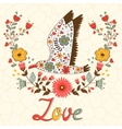 Concept love card vector image vector image