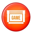 Game cartridge icon flat style vector image