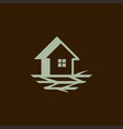 Home branch wooden nature business logo