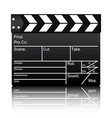 Film slate vector image vector image