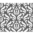 floral damask pattern seamless vector image vector image