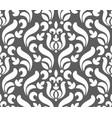 floral damask pattern seamless vector image