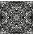 Geometrical seamless pattern black and white color