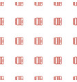 harmonic icon pattern seamless white background vector image vector image