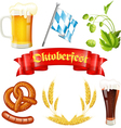 Oktoberfest Icon vector image vector image