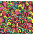 psychedelic waves seamless pattern vector image