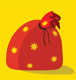 Sack isolated color vector image vector image