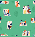 summer outdoor recreation background picnic vector image vector image