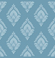 volumetric damask seamless pattern vector image