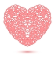 Abstract Openwork Heart vector image