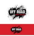automotive off road logo vector image
