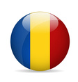 Flag of Romania vector image vector image